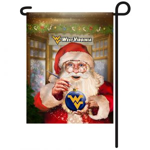 West Virginia Mountaineers Christmas Garden Flag