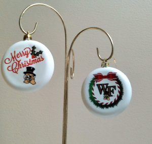 Wake Forest Christmas Ornaments