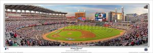 Atlanta Braves First Pitch at Suntrust Park Panoramic Print
