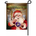 East Carolina Christmas Garden Flag