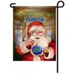 Florida Gators Christmas Garden Flag