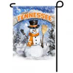 Tennessee Volunteers Snowman Garden Flag
