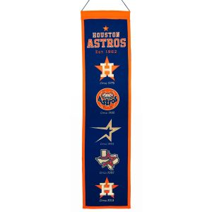 Houston Astros Heritage Banner