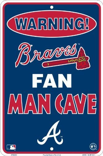Atlanta Braves Man Cave Sign
