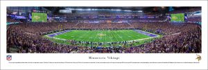 Minnesota Vikings U.S. Bank Stadium Print