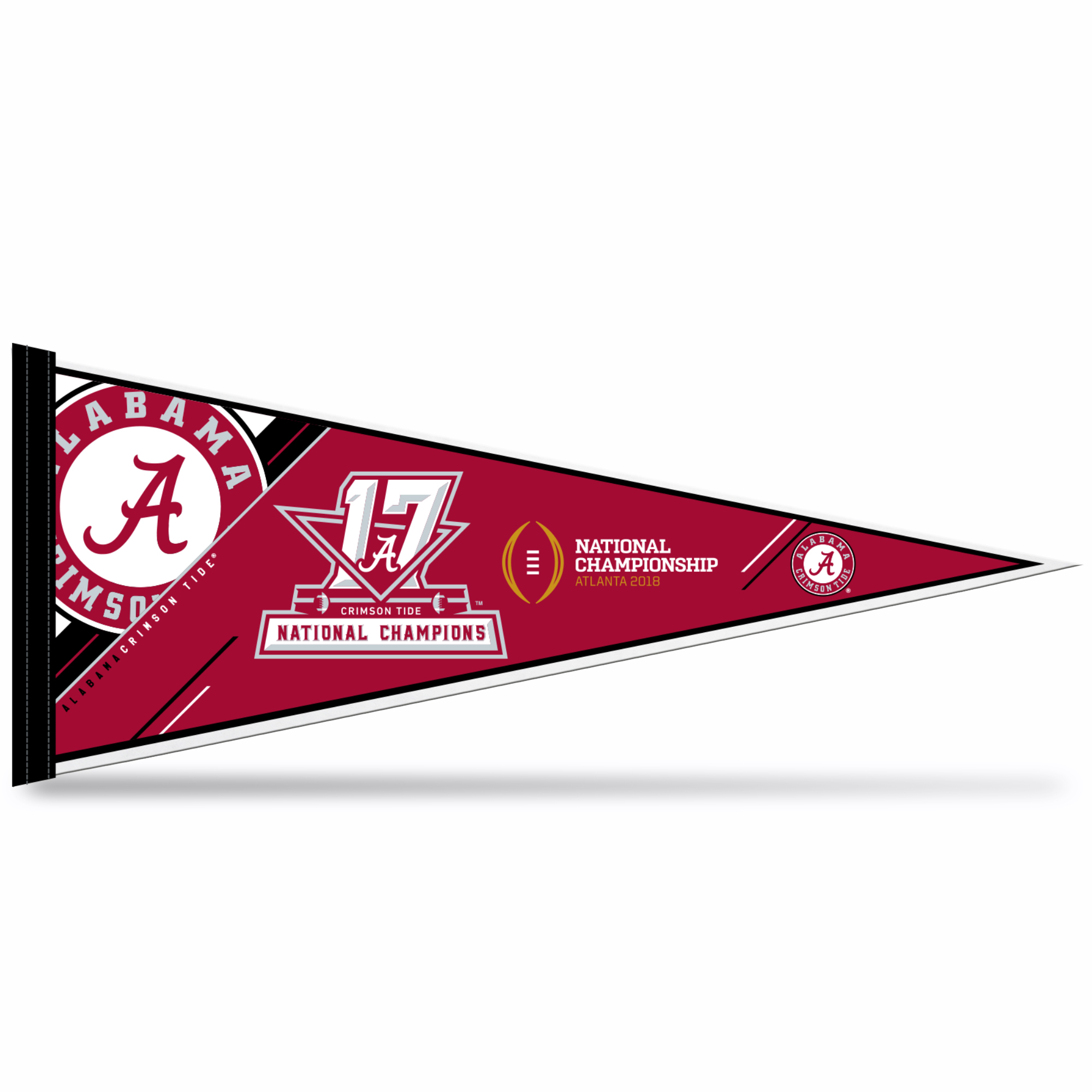2017 Alabama National Championship Pennant