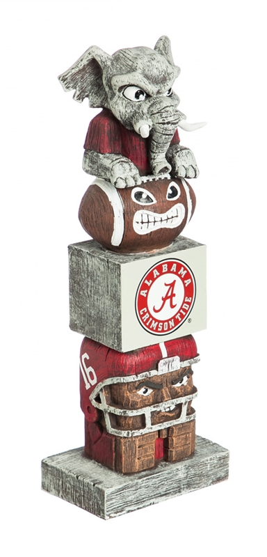 Alabama Crimson Tide Tiki Totem