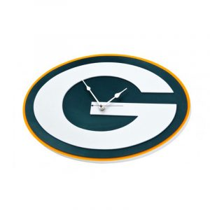 Green Bay Packers Foam Clock