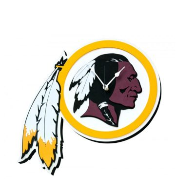 Washington Redskins Foam Clock