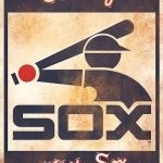 Chicago White Sox Vintage Sign