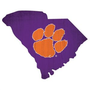 Clemson Tigers State Sign