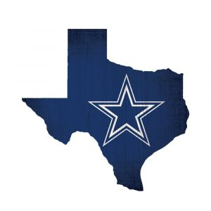 Dallas Cowboys State Sign