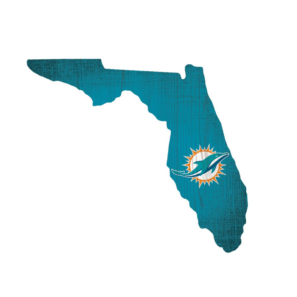 Miami Dolphins State Sign