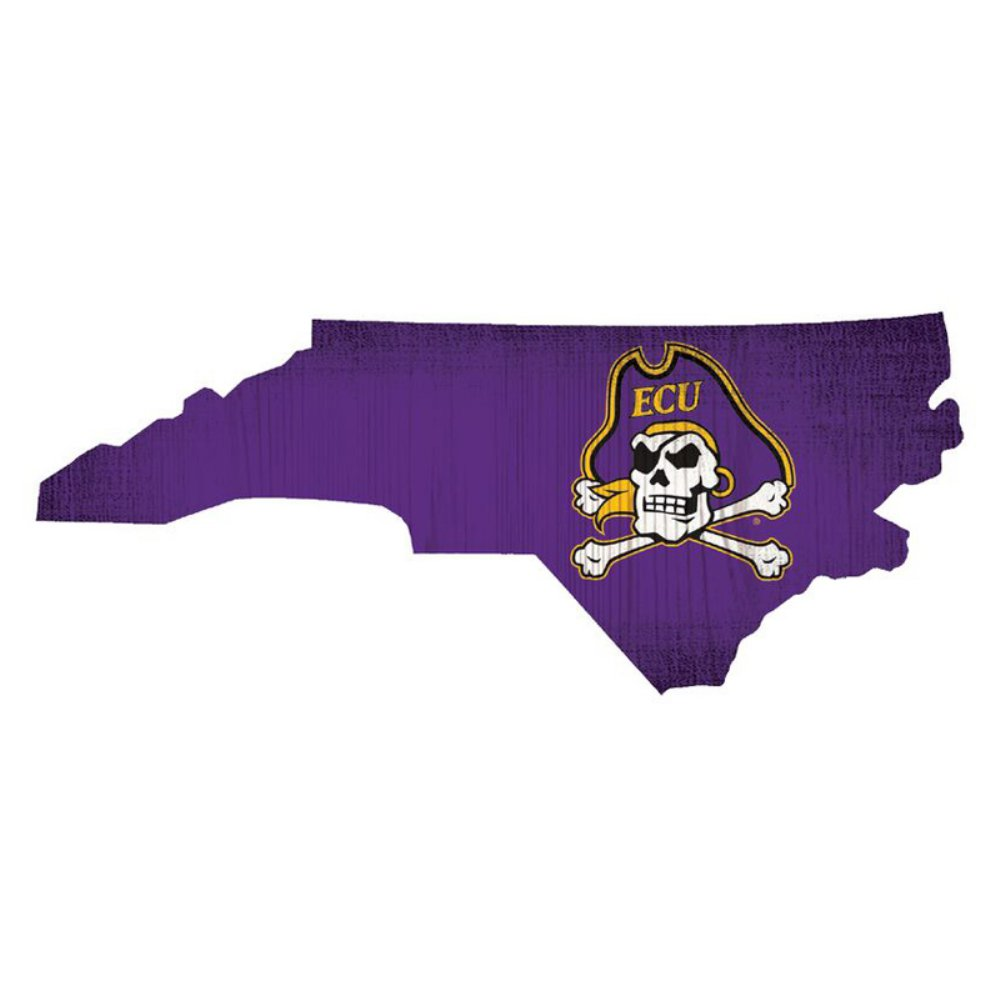 East Carolina Pirates State Sign
