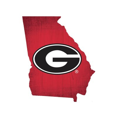 Georgia Bulldogs State Sign