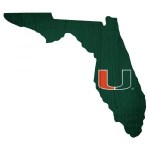Miami Hurricanes State Sign