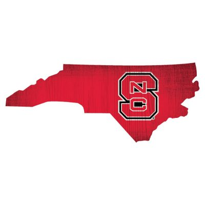 NC State Wolfpack State Sign