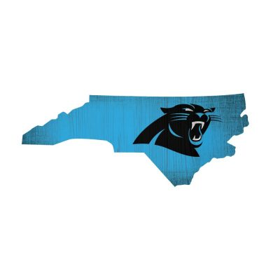 Carolina Panthers State Sign