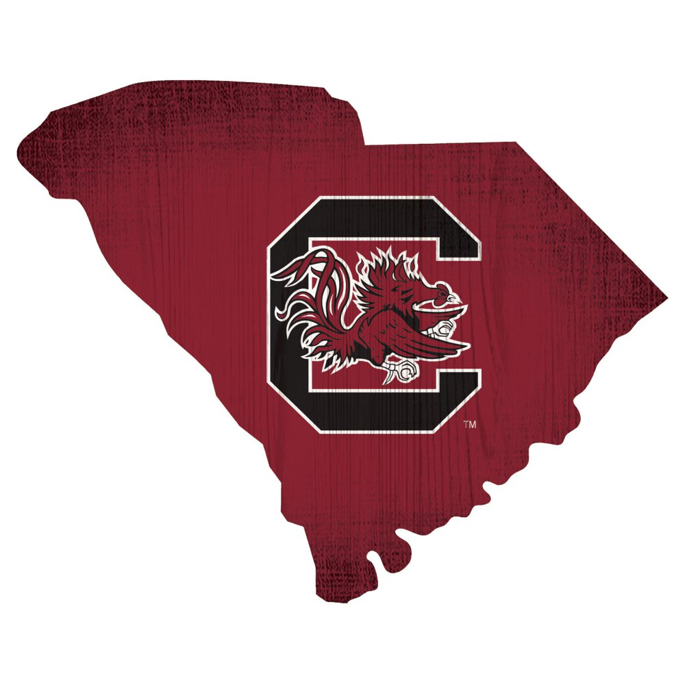 South Carolina Gamecocks State Sign
