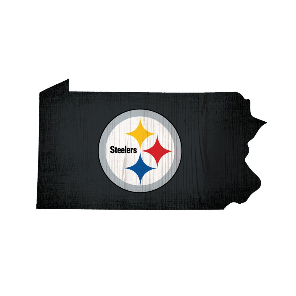 Steelers State Logo Sign