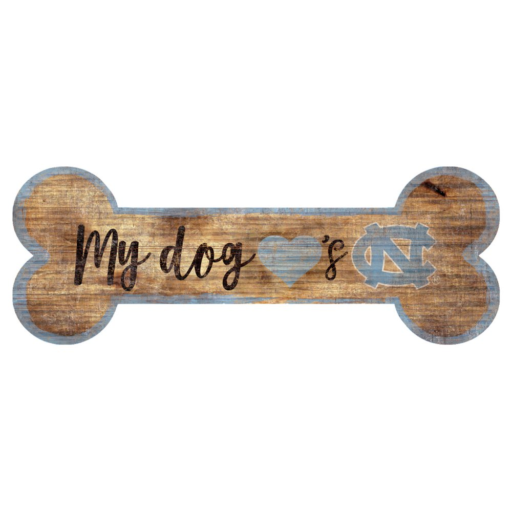 UNC Dog Bone Sign