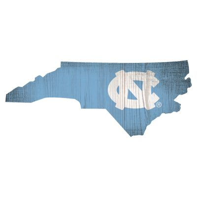 North Carolina Tar Heels State Sign