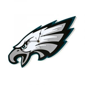 Philadelphia Eagles Foam Clock