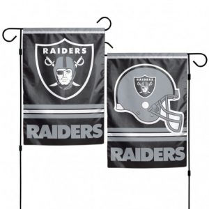 Oakland Raiders Garden Flag