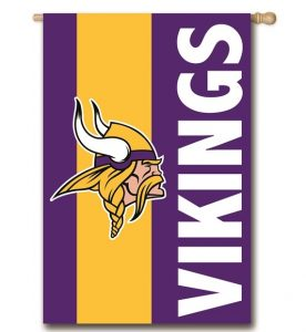 Minnesota Vikings House Flag
