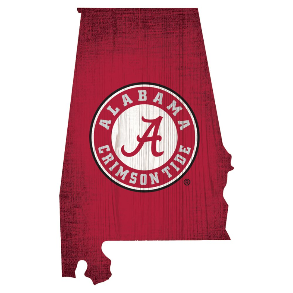 Alabama Crimson Tide State Sign