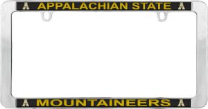 Appalachian State License Plate Frame