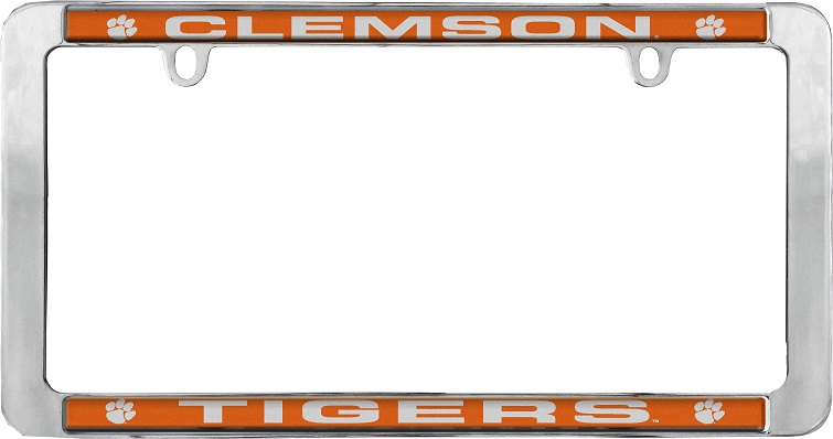 Clemson metal thin frame