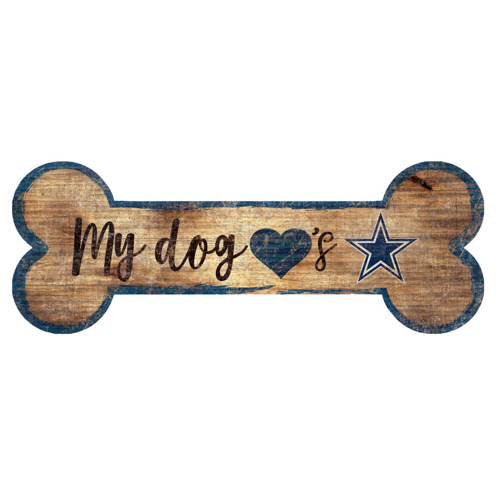 Cowboys Dog Bone Sign