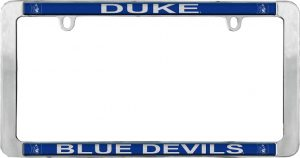 Duke Blue Devils License Plate Frame
