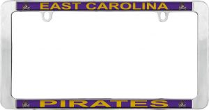 East Carolina Pirates License Plate Frame