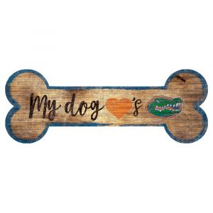 Florida Gators Dog Bone Sign