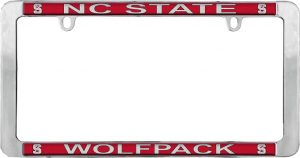 NC State Wolfpack License Plate Frame