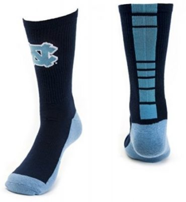 North Carolina Tar Heels Crew Socks