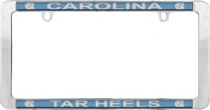 North Carolina Tar Heels License Plate Frame