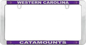Western Carolina Catamounts License Plate Frame