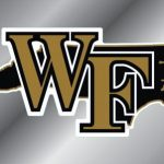 Wake Forest Demon Deacons State Shape License Plate