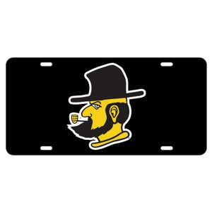 Appalachian State Reflective License Plate