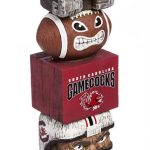 South Carolina Gamecocks Tiki Totem