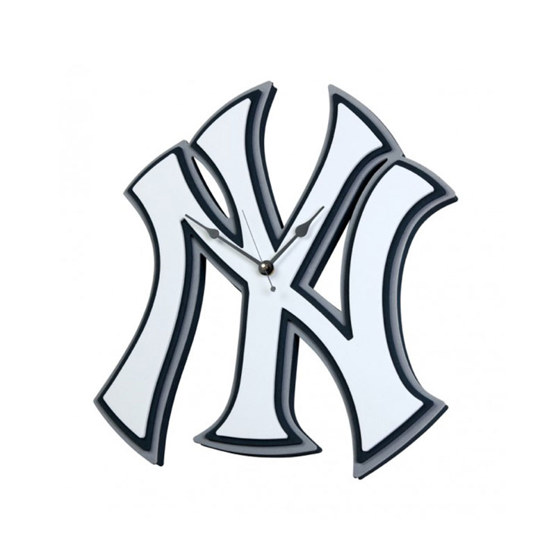 Yankees foam clock