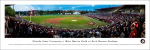 Florida State Mike Martin Field Stadium Print