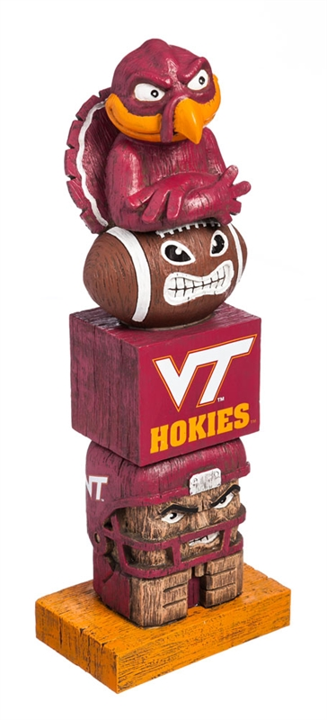 Virginia Tech Tiki Totem