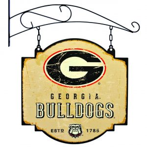 Georgia Bulldogs Tavern Sign