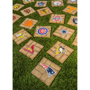 NFL, MLB, and College Garden Stones