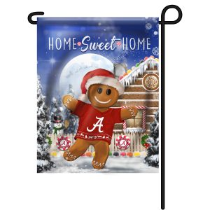 Alabama Crimson Tide Gingerbread Garden Flag