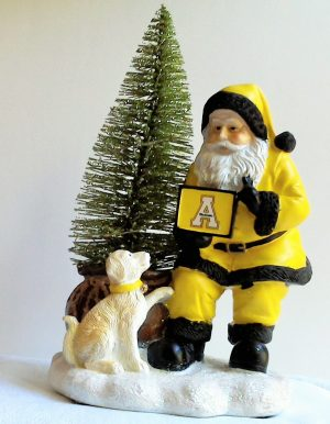 Appalachian State Mountaineers Santa with LED Tree